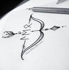 69 New Ideas For Tattoo Handgelenk Pfeil Und Bogen Weird Tattoos, Trendy Tattoos, Rose Tattoos, New Tattoos, Small Tattoos, Tattoos For Guys, Bow Arrow Tattoos, Tattoo For Son, Back Tattoo