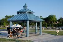 beach gazebo Shelters, Playground, Ontario, Gazebo, Shades, Outdoor Structures, Park, Beach, Water