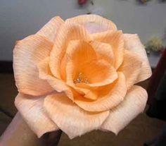 Cómo hacer flores grandes de papel …