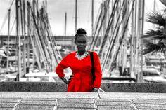 Fumi Desalu Vold, West African Model