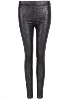 FLORAL LACE WET LOOK LEGGING  These floral lace print wet look leggings are the perfect alternative to skinny jeans, made from faux leather fabric these leggings will be your new go to bottoms to finish any outfit! #lace #leggings