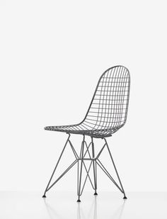 Wire Chair DKR-5 (mit Bezug) | Charles & Ray Eames, 1951 | Vitra