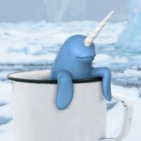 Narwhal, Narwhal, swimming in your tea cup! Causing a commotion because he is so awesome! No matter what time of the day or night it is, it's the perfect time to brew some tea with the unicorn/Jedi