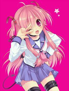 Yui from Angel Beats. She has to be one of my favorite characters. Heck, they're all my favorite characters. Angel Beats, Manga Anime, Manga Girl, Anime Art, Anime Girls, Shugo Chara, Mirai Nikki, Zero No Tsukaima Anime, Vocaloid