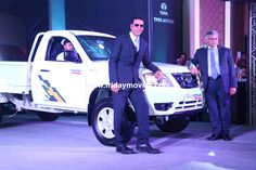 AkshayKumar at the launch of a commercial #vehicle by #Tata #BollywoodNews