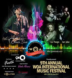Today's show we talk about the 9th Annual WOA International Music Festival 2017 (18th-25th Feb) and give you some inside info on the artists, gigs, ways to get free passes and more! And of course 6 breakthrough Indie songs featured today including Oliver S...