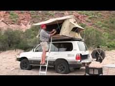 Paul May of Equipt Expedition Outfitters will go over in depth the details and features of the Eezi-Awn Roof Top Tent. You can view the tent on Equipt's webs. Top Tents, Roof Top Tent, Truck Tent, Roof Lines, Roofing Materials, How To Level Ground, Toyota Land Cruiser, Rooftop, Outdoor Gear