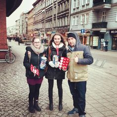 We support our partners - The Great Orchestra Of Christmas Charity (http://en.wosp.org.pl/) not only with our tools, but in cash, too :) Szymon met volunteers in the street.  January, 2014