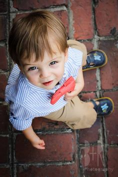 1 Year Photo Session | Boy | Bow Tie - B+R Photography - Nashville, TN