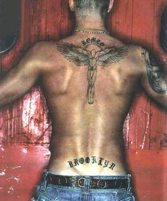 David Beckham - Angel Tattoo - #Tattoo