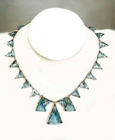 Icy Blue Triangles