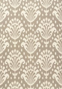 Thai Ikat #wallpaper in #grey from the Jubilee collection. #Thibaut