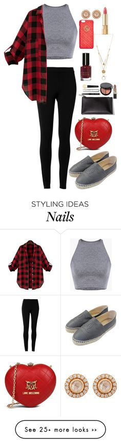 """Daily Look"" by jannat1999 on Polyvore featuring Max Studio, Chanel, Love Moschino, Zoe, Dolce&Gabbana, GUESS, Bobbi Brown Cosmetics and Maison Margiela"