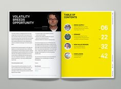Editorial- and Information-Design for the first Media Economy Report for IPG Mediabrands and their strategic global media unit MagnaGlobal.Informed by the global resources of IPG MEDIABRANDS, this inaugural Media Economy Report contains an overview of t…
