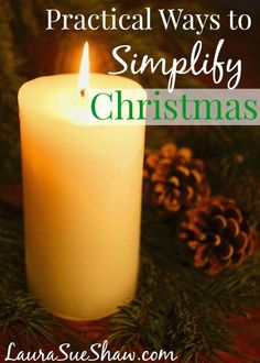 Who said Christmas had to be complicated? Sometimes simple is better and these practical tips will help you have a wonderful, simplified Christmas without the stress.