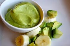 My son is 4 and is currently on a feeding tube. We are in search of some high calorie puree's for him to take by mouth hoping to get rid of the feeding tube soon! I discovered that Avocado's have a natural source of high calories and are good for him. Avocado Baby Food, Banana Baby Food, Healthy Baby Food, Avocado Puree Baby, Avacado For Baby, Food Baby, Pureed Food Recipes, Baby Food Recipes, Vegan Recipes