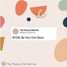 The Peony Collective Be Your Own Boss, Peony, Movie Posters, Collection, Instagram, Film Poster, Popcorn Posters, Film Posters, Billboard