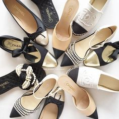 c0eab2034ce4  Chanel shoe party 😍 pic by  my fashion collection42 Chanel Sandals 2017