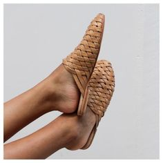 Unblocked Studio is a design studio based in Melbourne, that specializes in web + brand development for empowering women. Leather Mules, Lambskin Leather, Leather Loafers, Travel Outfit Summer, Summer Outfits, Boho Bags, Leather Weaving, Beach Accessories, Braided Leather