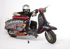 The Scooterist: BARACUTA G9 - LONDON TO WOOLACOMBE