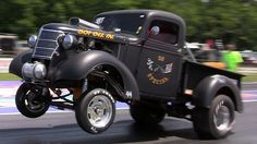 Straight Axle Trucks And Gassers: Gasser Drag Trucks And Straight Axle D...