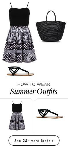 """""""Summer outfit 6"""" by latina2003 on Polyvore featuring FRACOMINA, Sensi Studio and Sole Society"""