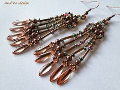 """Dangle Earrings with Various """"Ends"""" - Spikes, Daggers, Drops etc."""