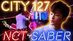 City 127 - NCT 127 | BEAT SABER Mixed Reality | 엔씨티 127 비트세이버 ビートセイバー