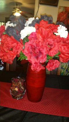 A flower arrangement my mother made!!