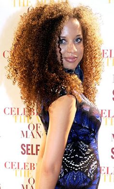 Natalie Gumede. The color is AMAZING!!
