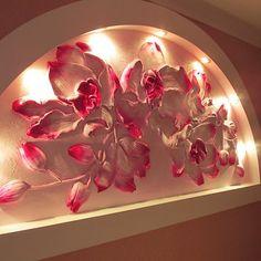 Орхидеи - Скульптура и лепка - Лепные панно и барельефы