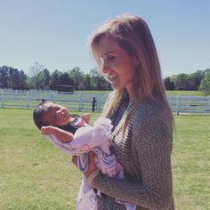 Korie and her friend's precious new born <3