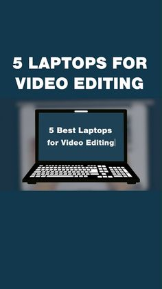 5 Best Laptops for Video Editing — Creative Haven Laptop Slow, Free Video Editing Software, Shot Film, Startup, Best Laptops, Video Production, Gaming Setup, Gaming Computer, Video Footage