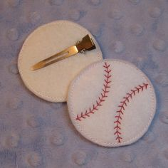 Baseball Hair Pretties In the Hoop -