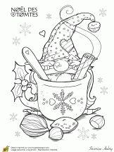 Coloring Pages Christmas Elegant Christmas Gnome Coloring Page Christmas Gnome, Christmas Colors, Christmas Crafts, Kids Christmas, Elegant Christmas, Christmas Coloring Pages, Coloring Book Pages, Colouring Sheets, Diy Crib