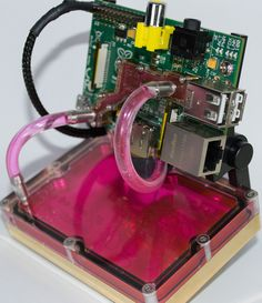 water-cooled RaspBerry PI
