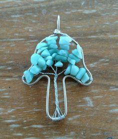 SALE Nickel Silver Wire Wrapped Aventurine by CyansJewelry on Etsy Handmade Wire Jewelry, Unique Jewelry, Nickel Silver, Wire Wrapping, Jewelery, Handmade Gifts, Polymers, Bending, Christmas Ornaments