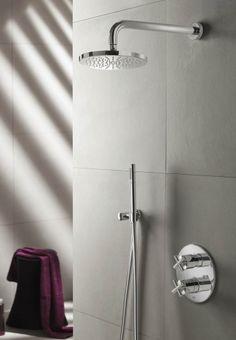 IBS 3 A Complete thermostatische douche InBouwSet met 2-weg-stop-omstel (met 3-standen handdouche)