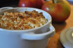 Par ici la recette du crumble aux pommes, sans gluten ! Parfait pour un hiver au chaud!