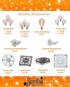 Scentsy accessories! Order Today at: ~ https://charneff.scentsy.us Follow me on FB at: https://www.facebook.com/charneff.scentsy