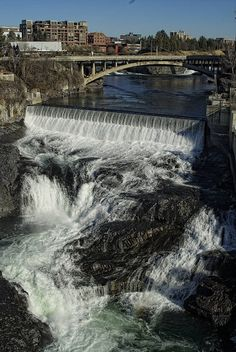 Spokane will always be my city! I miss spending times by the Spokane Falls! Great Places, Places To See, Beautiful Places, Spokane Washington, Washington State, Spokane Falls, Evergreen State, Places To Travel, Travel Destinations