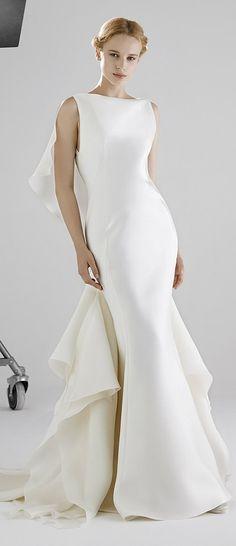 Modern Sleek Peter Langner Bridal 2016