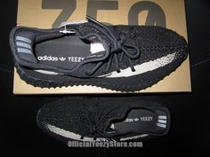 0d78d942f Adidas Yeezy Boost 350 v2 Oreo Core Black  amp  White (BY1604) US 9.5
