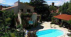 Vakantiehuis Villa Maria - Laroque-des-Alberes - Hérault Zuid Frankrijk - Privé zwembad