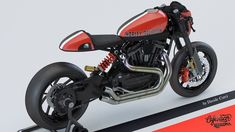 Harley-Davidson XR 1200XX Cafe Racer design by Davide Curci #motorcycles #caferacer #motos | caferacerpasion.com
