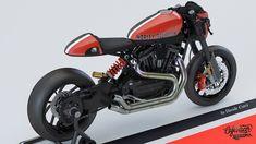 Harley-Davidson XR 1200XX Cafe Racer design by Davide Curci #motorcycles #caferacer #motos | caferacerpasion.com