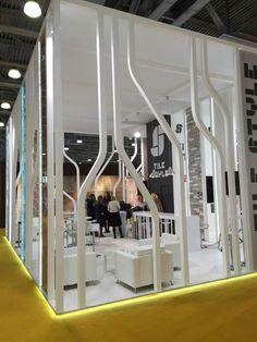 Exhibition Stall Design, Exhibition Space, Exhibition Stands, Display Design, Wall Design, Exibition Design, Stand Feria, Museum Displays, Stage Design
