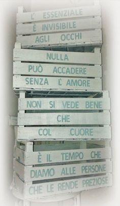 """Restyling di Cassette Legno """"Non solo Frutta"""""""