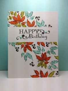 Spring blooms: wplus9, OCC, SYS2, Day 9, One layer card, by beesmom - Cards and Paper Crafts at Splitcoaststampers