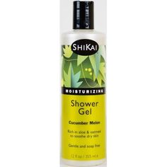 ShiKai Moisturizing Shower Gel, Cucumber Melon, 12 Oz, Multicolor